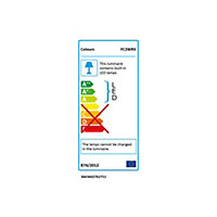 Colours Driggs Mains-powered LED Multicolour Strip light IP20 400lm (L)3m