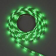 Colours Driggs Mains-powered LED Multicolour Strip light IP20 400lm (L)5m