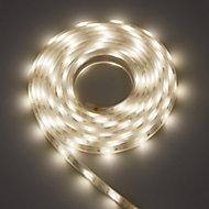 Colours Emmett Mains-powered LED Multicolour Strip light IP65 400lm (L)5m