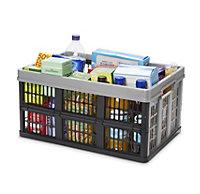Stuva Black & Grey 45L Foldable Crate