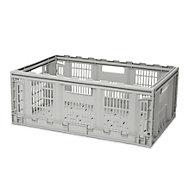 Foldie Heavy duty Grey 46L Foldable Crate