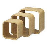 Form Cusko Cube shelves, Set of 3