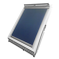 Blue Blackout Roof window blind (W)78cm (L)98cm