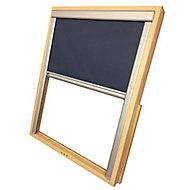 Blue Blackout Roof window blind (W)78cm (L)98cm