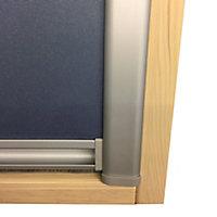 Blue Blackout Roof window blind (W)55cm (L)78cm