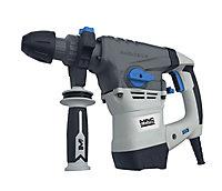 Mac Allister 1500W 240V Corded Brushed SDS plus drill MSRH1500