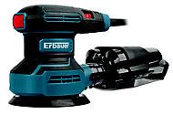 Erbauer Corded 400W 220-240V Random orbit sander ERO400