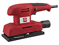 Performance Power 220-240V Corded 1/3 Sheet sander with Sanding paper, vacuum adaptor & instruction manual PTSS135C