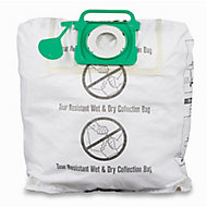Mac Allister MVAC006 40L Vacuum filter bag, Pack of 2