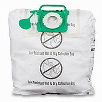 Mac Allister MVAC006 40L Vacuum filter bag, Pack of 2