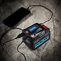 Erbauer EXT 18V Li-ion USB adaptor