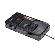 Erbauer EXT 18V Li-ion 2 port battery Charger