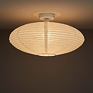 Papyrus Brushed White Ceiling light