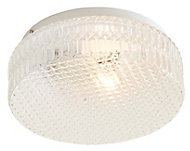 Oreste Brushed White Ceiling light