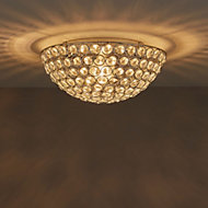 Mantus Chrome effect Ceiling light