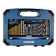 Erbauer 100 piece Mixed Drill bit Set