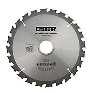 Erbauer 24T Circular saw blade (Dia)184mm