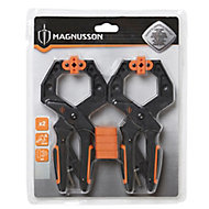 Magnusson 50mm Bar clamp, Pack of 2