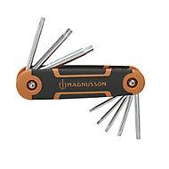 Magnusson 8 piece Foldable Torx key Set