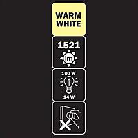 Diall B22 14W 1521lm GLS Warm white LED Light bulb