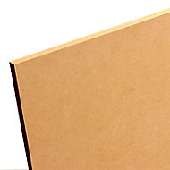 Smooth MDF Board (L)2.44m (W)1.22m (T)25mm