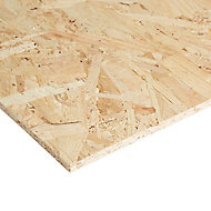Smooth OSB 3 Board (L)2.4m (W)1.22m (T)9mm