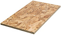 Smooth OSB 3 Board (L)2.44m (W)1.22m (T)18mm