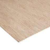 Smooth Natural Hardwood Plywood Board (L)0.81m (W)0.41m (T)3.6mm