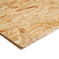 Smooth OSB 3 Board (L)1.69m (W)634mm (T)18mm