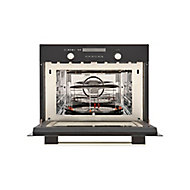 Cooke & Lewis CLCPBL Black Built-in Electric Compact Oven