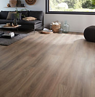 Colours Albury Natural Oak effect Laminate flooring, Sample