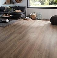 Colours Albury Natural Oak effect Laminate flooring, Sample