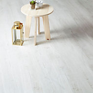 Colours Macquarie White Oak effect Laminate flooring, Sample
