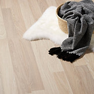 Colours Broome Natural Oak effect Laminate flooring, Sample