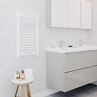 Blyss 272W White Towel warmer (H)700mm (W)400mm