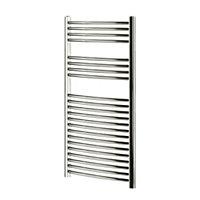 Blyss 382W Chrome Towel warmer (H)1100mm (W)600mm