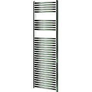 Blyss 449W Chrome Towel warmer (H)1600mm (W)450mm