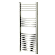 Blyss Pentworth 273W Chrome Towel warmer (H)974mm (W)450mm