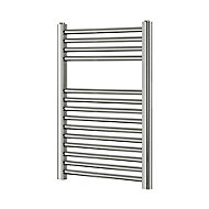 Blyss 165W Chrome Towel warmer (H)700mm (W)400mm