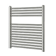 Blyss 252W Chrome Towel warmer (H)700mm (W)600mm