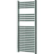 Blyss 333W Chrome Towel warmer (H)1200mm (W)450mm