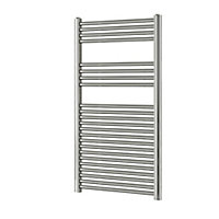 Blyss 415W Electric Chrome Towel warmer (H)1200mm (W)600mm