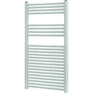Blyss Leyburn 616W White Towel warmer (H)1200mm (W)600mm
