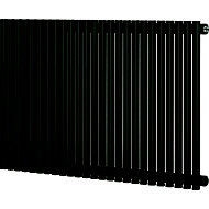 Blyss Thorpe Horizontal Designer radiator Anthracite (H)600 mm (W)1000 mm