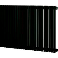 Blyss Thorpe Horizontal Designer radiator Anthracite (H)600 mm (W)1000 mm