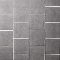 Cimenti Grey Matt Concrete effect Porcelain Floor tile, Pack of 20, (L)307mm (W)307mm