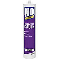 No Nonsense 300ml White Decorators Caulk