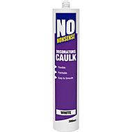No Nonsense 380ml White Decorators Caulk