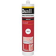 Diall Glazing & frame White General Purpose Sealant 300 ml