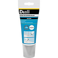 Diall Mould Resistant Translucent Kitchen & Bathroom Sealant 150 ml